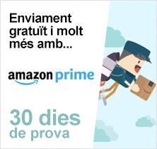 Enviament gratuït i molt més amb AmazonPrime